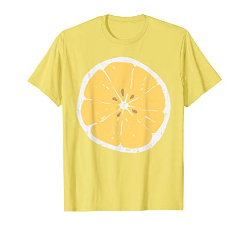 Lemon Funny Citrus Fruit Lazy DIY Easy Halloween Costume