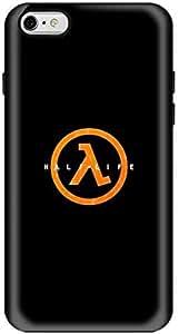 Stylizedd Apple iPhone 6Plus Premium Dual Layer Tough Case Cover Matte Finish - Half-Life