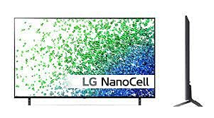 LG NanoCell TV 50 Inch NANO80 Series Cinema Screen Design 4K Active HDR webOS Smart with ThinQ AI Local Dimming