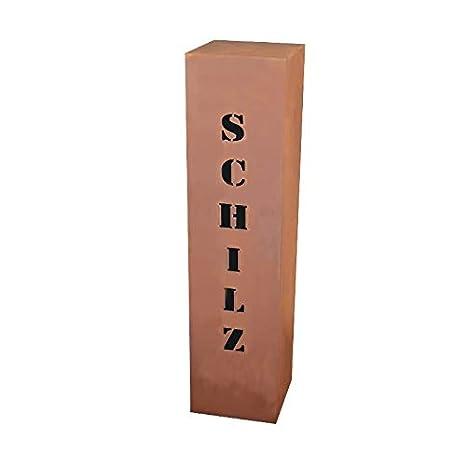 Óxido columna rs120 Su Propia Nombre aprox. 100 x 20 x 20 cm ...