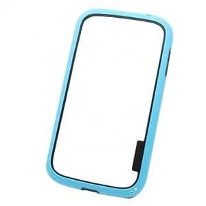 PC+TPU Bumper Frame Protective Case For Samsung i9082 Baffin --- Color:Black