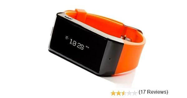 MyKronoz ZEWATCH - Smartwatch (Bluetooth, pantalla táctil, altavoces incorporados), naranja [importado]: Amazon.es: Electrónica