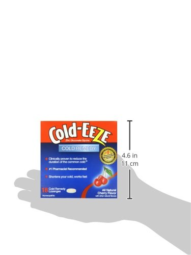 091108100136 - Cold-Eeze Cold Eeze, Cold Remedy, All Natural Cherry Flavor, 18 Lozenges - 1 Pack carousel main 3