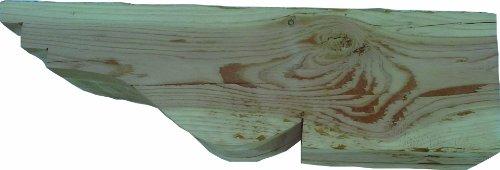 Post Side Support Bracket (Wood Corbel Bracket for Shelf or Post)