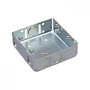 パナソニック 【ケース販売特価 50個セット】鋼板製スイッチボックス 2コ用 電気亜鉛めっき DS4821K_set B014KJZS30