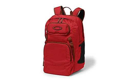 Oakley Works 35L Backpack - 2136cu in Red Line, One Size