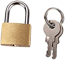 Sansee candado de combinación de acero con llaves de bloqueo ...