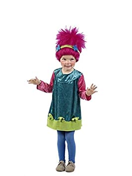 DISBACANAL Disfraz de Troll para niña - Único dae8b5525ab8