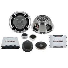 Brand-X XXLHDS3 6.5'' 3-Way Component Speaker System