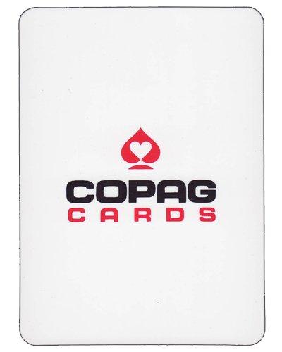 Copag White Plastic Cut Card - Choose Size (Poker Bridge) Poker Supplies