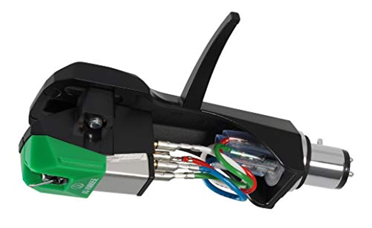 [해외] 오디오테크니카 AUDIO-TECHNICA 헤드 쉘 부착VM형 스테레오 카트리지 AT-VM95E/H 접합성피혁 퍼터원침