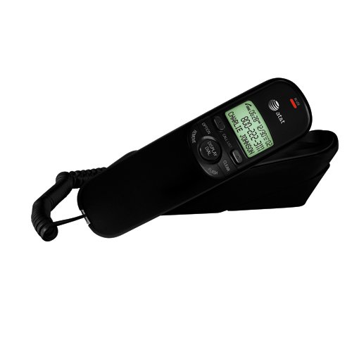 - ATT Corded Trimline Phone with Caller ID (Black) TR1909B TR1909B 650530019746