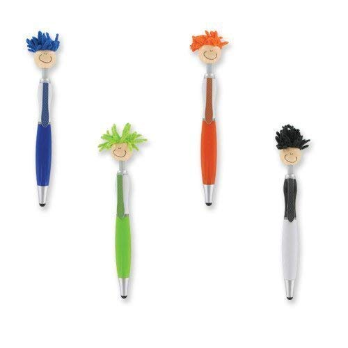Pen Set 4 Pieces Techie Tom Stylus With Duster - 4-Pack