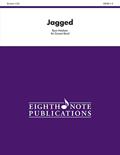 Jagged: Conductor Score & Parts (Eighth Note Publications)