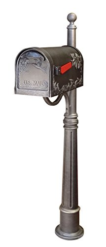 Special Lite SCB-1005-SPK600-SW Hummingbird Curbside Mailbox with Ashland Mailbo by Special Lite Products Company, Inc.