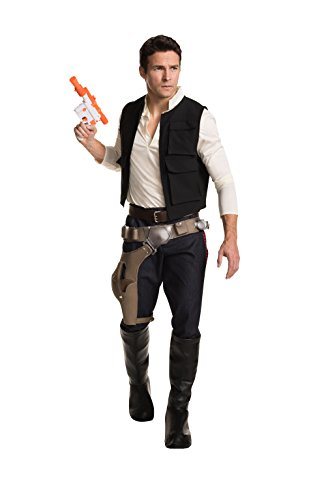 Star Wars Classic Grand Heritage Han Solo Costume, Multi, Men's (Han Solo Star Wars Costume)