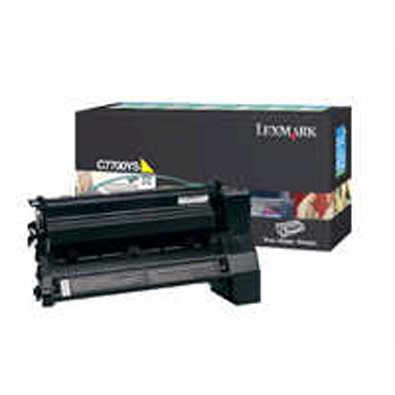 Lexmark C772 Print Cartridge Yellow 15000 Pages at 5 Percent Coverage