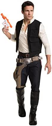 Rubie's Men's Classic Star Wars Grand Heritage Han Solo Costume