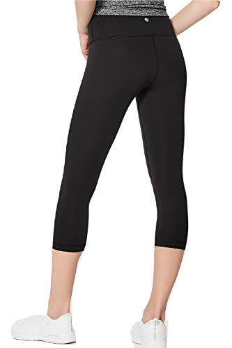er Crop High Rise Luxtreme Yoga Pants (Black, 6) ()