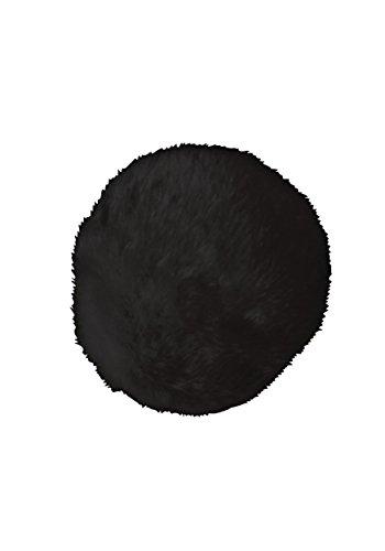 Forum Novelties Party Supplies Dlx Plush Bunny Tail, Black, Standard, Black, Multi
