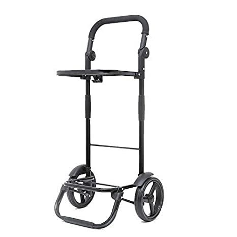 591d6b8eff49 Amazon.com: SXRNN Grocery Cart Lightweight Wheeled Shopping Trolley ...