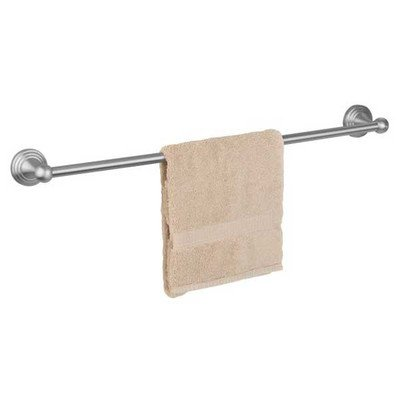 Naples Naples Single (Dynasty Hardware DYN-8318-SN Naples 18-Inch Single Towel Bar, Satin Nickel)