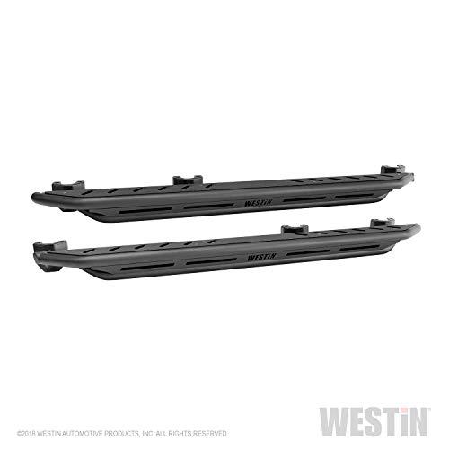 Rock Rail Step - Westin 42-6025 Textured Black Triple Tube Rock Rail Step for Jeep Wrangler JL Unlimited 4dr (Excl 2018 JK)
