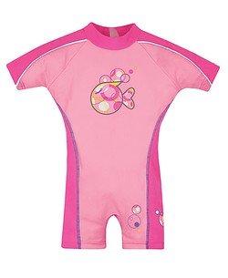 UPC 827782541619, Speedo Kids' UPF 50+ Polywog Swimsuit, Pink, Large
