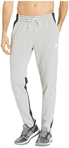 [adidas(アディダス)] メンズパンツ・長ズボン・ジャージ下 Sport To Street Pants Medium Grey Heather/Legend Ink L [並行輸入品]