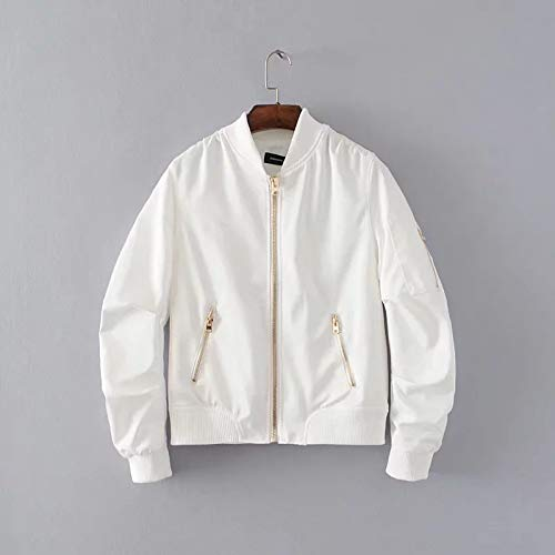 Jacketcappotto Pilota Di Giacche Volant Da Autunno Giacca In White Jjhr 5wqApnn