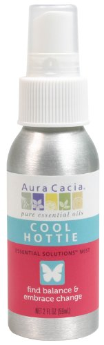 Aura Cacia Essential Solutions Mist, Cool Hottie, 2 Fluid Ounce ()