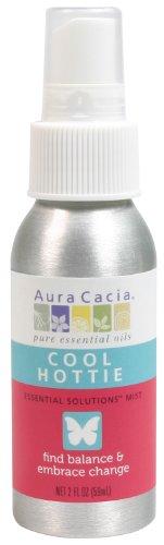 Price comparison product image Aura Cacia Essential Solutions Mist,  Cool Hottie,  2 Fluid Ounce