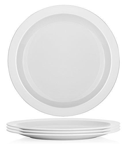 yhy-106-inch-porcelain-dinner-plates-white-round-plate-set-4-packs