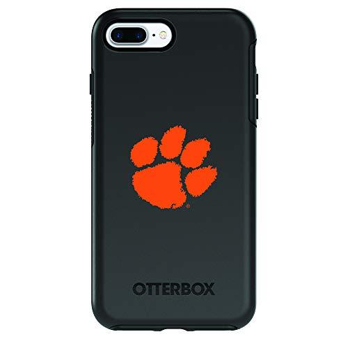 Tigers Fan Series - Fan Brander NCAA iPhone 8 Plus / 7 Plus Compatible OtterBox Symmetry Series Case (Clemson Tigers)