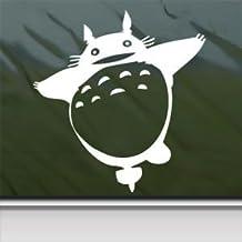Totoro White Sticker Decal Studio Ghibli Laputa Jdm White Car Window Wall Macbook Notebook Laptop Sticker Decal