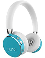 Puro Sound Labs BT2200s Volume Limited Kids' Bluetooth Headphones – Safer Headphones for Kids – Studio-Grade Audio Quality & Noise Isolation- Light Teal
