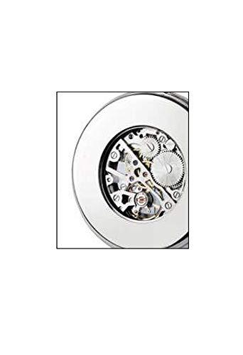 Klocka väska modell herald mekaniskt urverk Scheletrol övre lock rosa Lowell PO8115