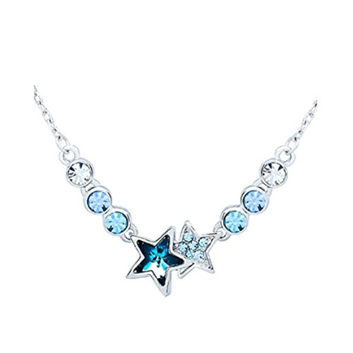 Andy Pandy Costume (NL-12016C5 Alloy Star Inlaid Crystal Women's Necklace)