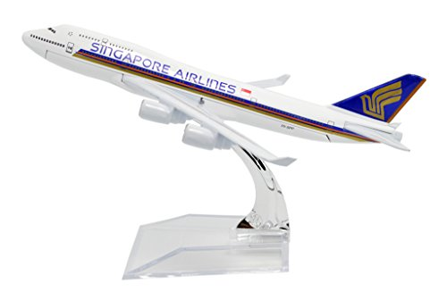 TANG DYNASTY(TM) b747 Singapore Airlines Metal Airplane Model Plane Toy Plane - Singapore Tangs