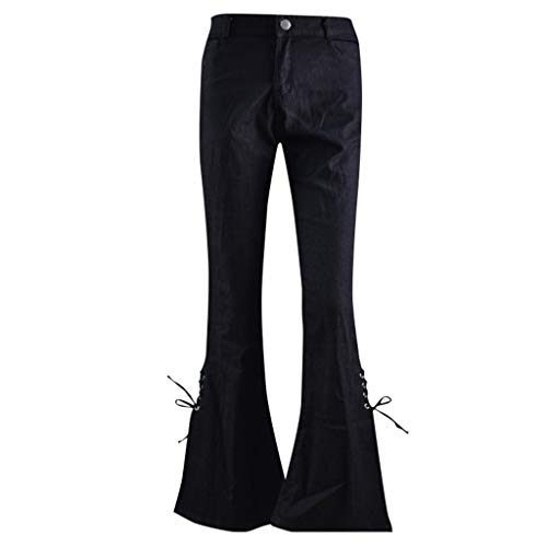 - NEARTIME Women Skinny Jeans Autumn Ladies Elastic Plus Loose Denim Pants Casual Bow Cut Trousers with Pockets