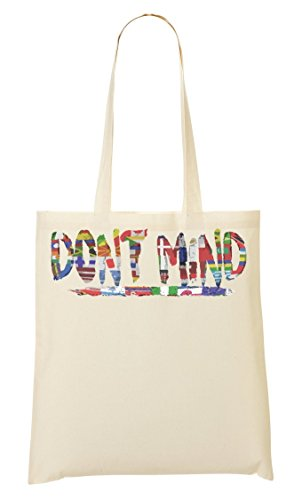 ShutUp Dont mind Music Collection Cool phrases Countries Different Flags Bolso De Mano Bolsa De La Compra