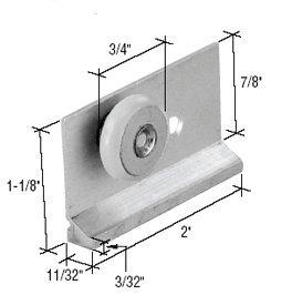 Nylon Sliding Shower Roller Assembly