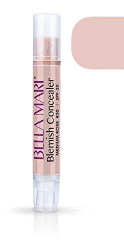 Medium Rose (Bella Mari Natural Blemish Concealer Stick, Medium Rose; 0.1floz)