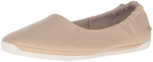 Lacoste Women's Rosabel Slip 316 1 Caw Fashion Sneaker, Natural, 9 M US