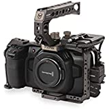 Tilta BMPCC 4K Cage TA-T01-B-G Full Camera Cage SSD Drive Holder Top Handle for BMPCC 4K Camera Basic Kit (Color Tilta Gray)