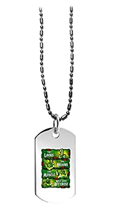Hat Shark The Philly Crew Parody TV Show Design - 3D Color Printed Military Dog Tag, Luggage Tag Pendant Metal Chain Necklace