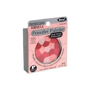 Physicians Formula Powder Palette Blush, MULTI- COLORED BLUSH- 0.17 Ounce (Pack of 2)