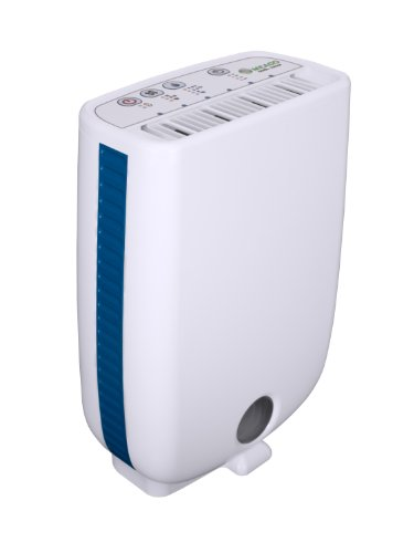Meaco DD8L Junior Desiccant Dehumidifier 8 L - White/ Blue Trim