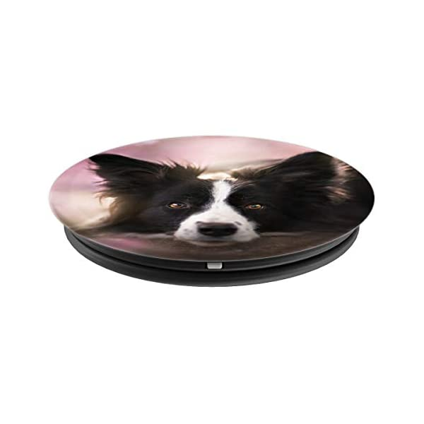 Border collie Dog - Border Collie Mom owner Birthday Gift PopSockets Grip and Stand for Phones and Tablets 2