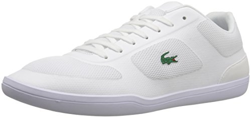 Lacoste Men's Court-Minimal Sport 316 1 Spm Fashion Sneaker, White, 7 M US